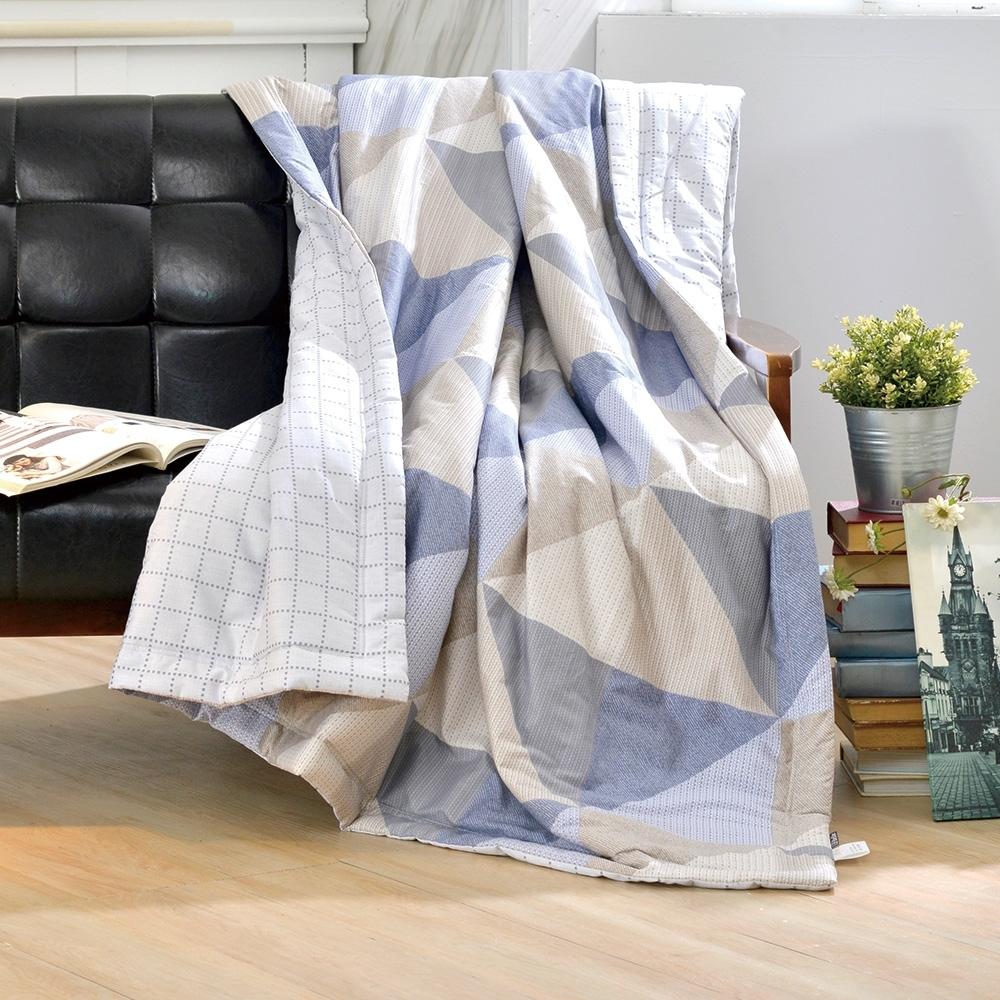 義大利La Belle 愜意時光 純棉涼被 5x6.5尺