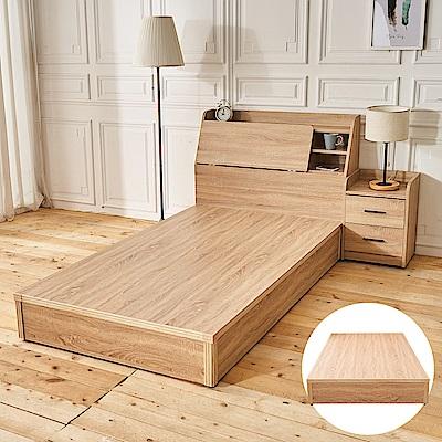 時尚屋 亞伯特3.5尺床底(不含床頭箱-床頭櫃)