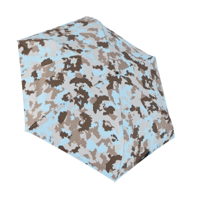 RAINSTORY 8°降溫凍齡手開輕細口紅傘(藍調迷彩)