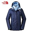 The North Face北面女款藍色保暖抓絨外套|3CGU8XG