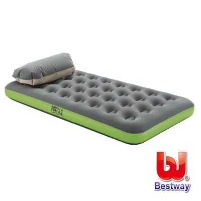 凡太奇 Bestway 帶枕式時尚單人加大充氣床(附收納打氣包) 67619