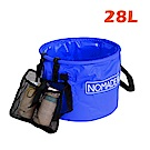 NOMADE 戶外便攜 多用途折疊水桶  -28L (藍)