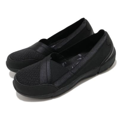 Skechers 休閒鞋 Be-Lux-Daylights 寬楦 女鞋 柔軟 吸震 套入式 記憶型泡棉鞋墊 黑 100026WBBK