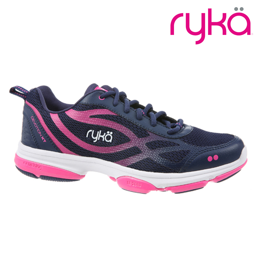 ryka DEVOTION XT 女健身訓練鞋 藍粉紅RKF0180M1400