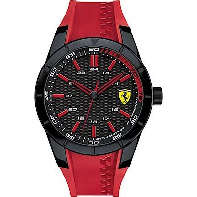 FERRARI 法拉利/狂熱飆速運動計時腕錶/FA0830299