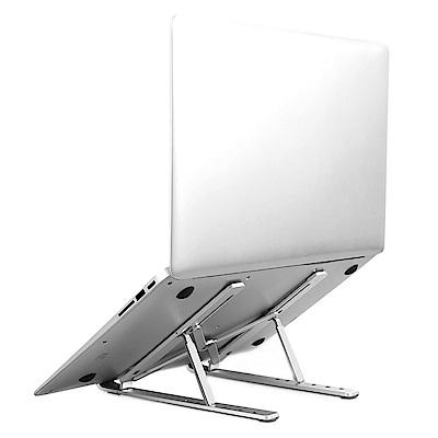 諾西NUOXI 超輕260g 折疊鋁合金結構 方便攜帶 摺疊收納 N3筆記型電腦散熱支撐架