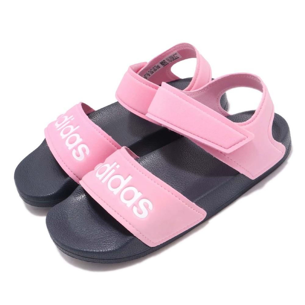 adidas 涼拖鞋 Adilette Sandal 童鞋