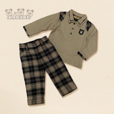 【金安德森】 KA POLO上衣+格子褲 (共二色)
