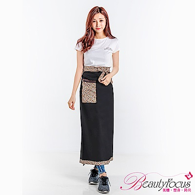BeautyFocus 口袋造型多用途防曬裙(豹紋)
