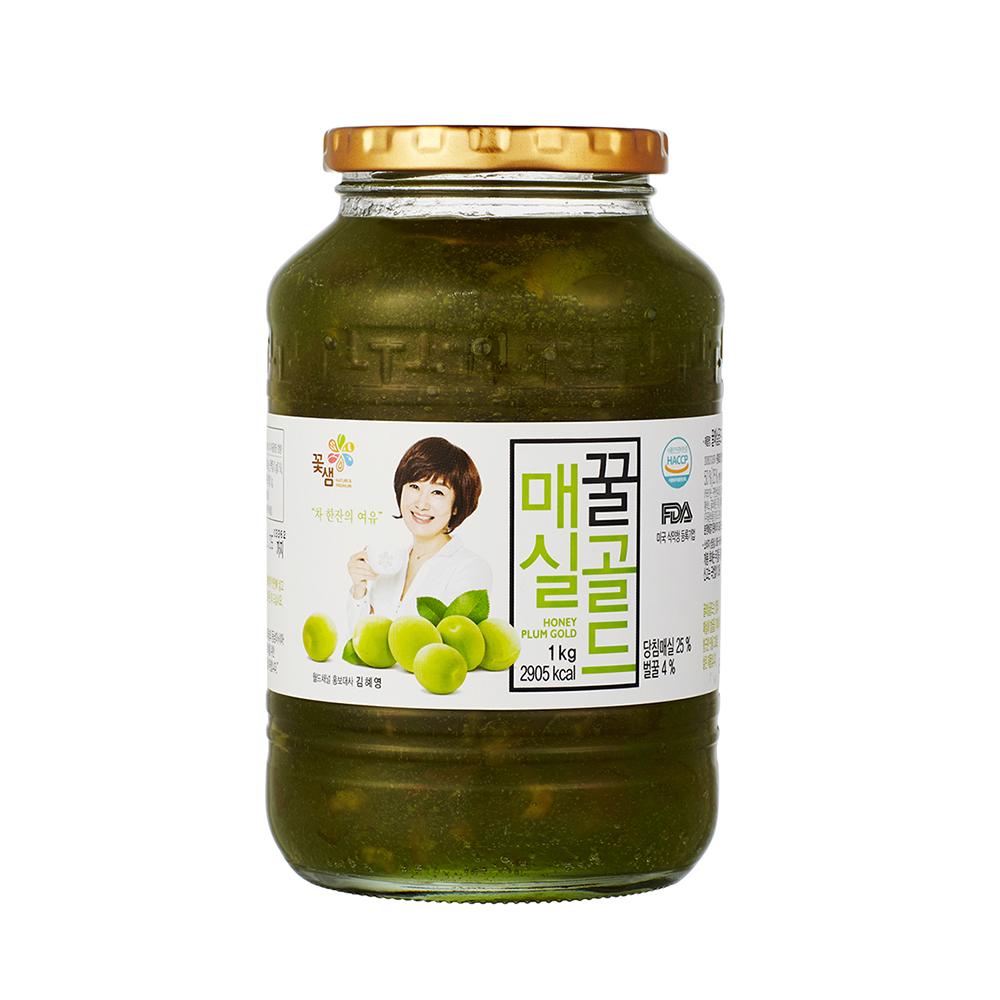 韓味不二 花泉頂級蜂蜜梅實茶(1kg)