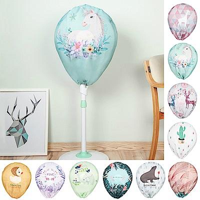 半島良品 簡約時尚全罩式電風扇防塵罩 (10款)