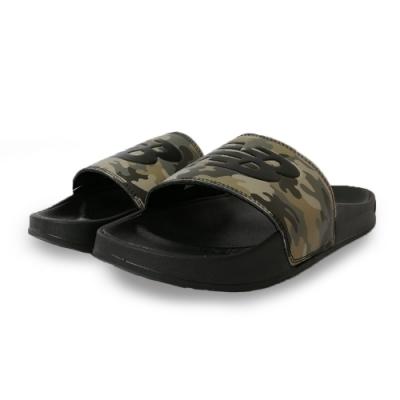 New Balance 涼拖鞋 基本款 輕量 透氣 休閒 男女鞋 黑 SMF200CPD
