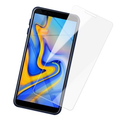 三星 J6+ 透明 9H 鋼化玻璃膜 防撞 防摔 保護貼 手機螢幕保護貼