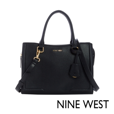 NINE WEST SHAYDEN梯型手提包-黑色(117206)