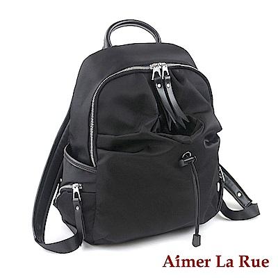 Aimer La Rue 後背包 真皮尼龍瓶中信系列(三色)(絕版出清)