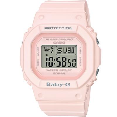BABY-G 柔和粉紅運動錶(BGD-560-4)