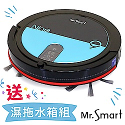 Mr.Smart  9S全新再進化 高速氣旋吸塵掃地機器人(蒂芬尼藍)