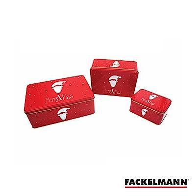 德國Fackelmann 聖誕錫盒三件組