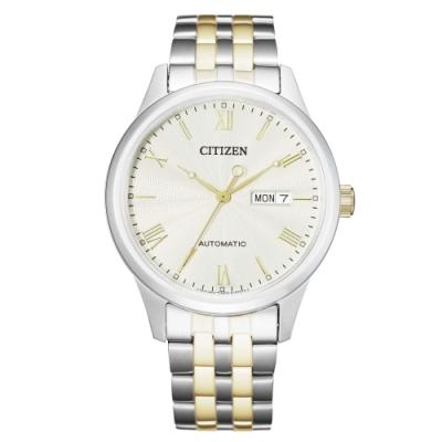 CITIZEN 星辰Mechanical簡約質感機械腕錶NH7506-81A
