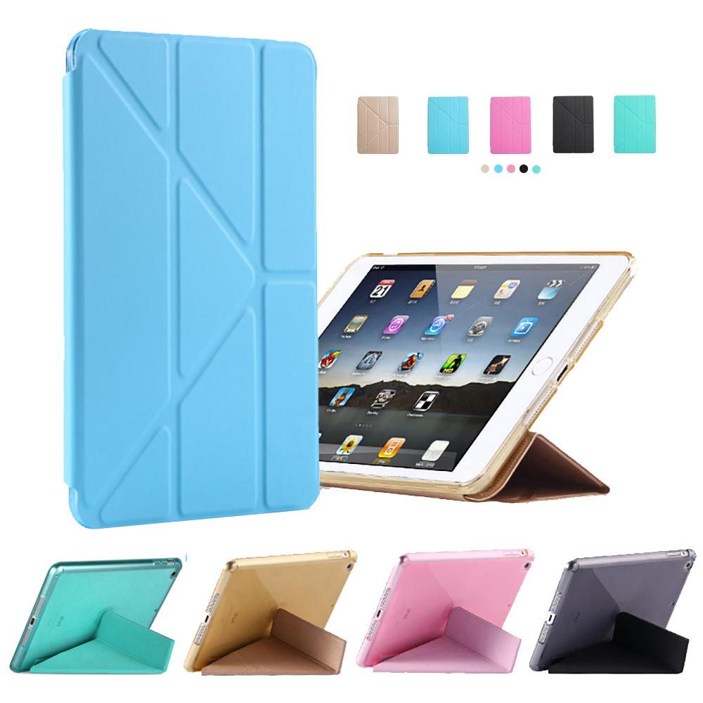 ANTIAN APPLE iPad 9.7(17/18版通用款)變形金剛 智慧休眠矽膠保護皮套 product image 1
