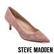 STEVE MADDEN-SABRINAH 素面尖頭中跟鞋-絨粉色 product thumbnail 1