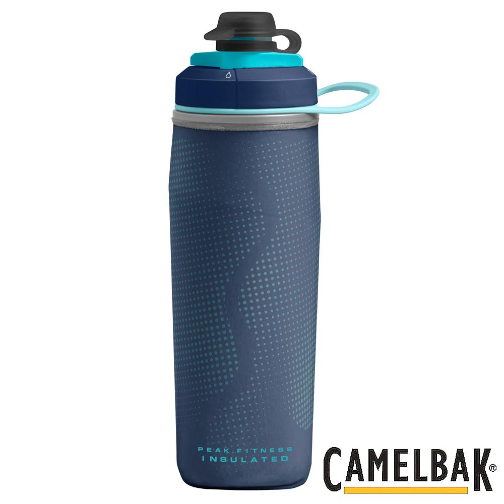 《CAMELBAK》運動保冰噴射水瓶 500ml 海軍藍 (CB1878401051)