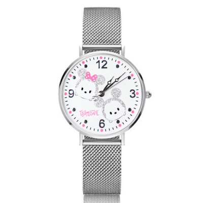 Disney迪士尼 米蘭帶系列手錶 TsumTsum米奇米妮34mm
