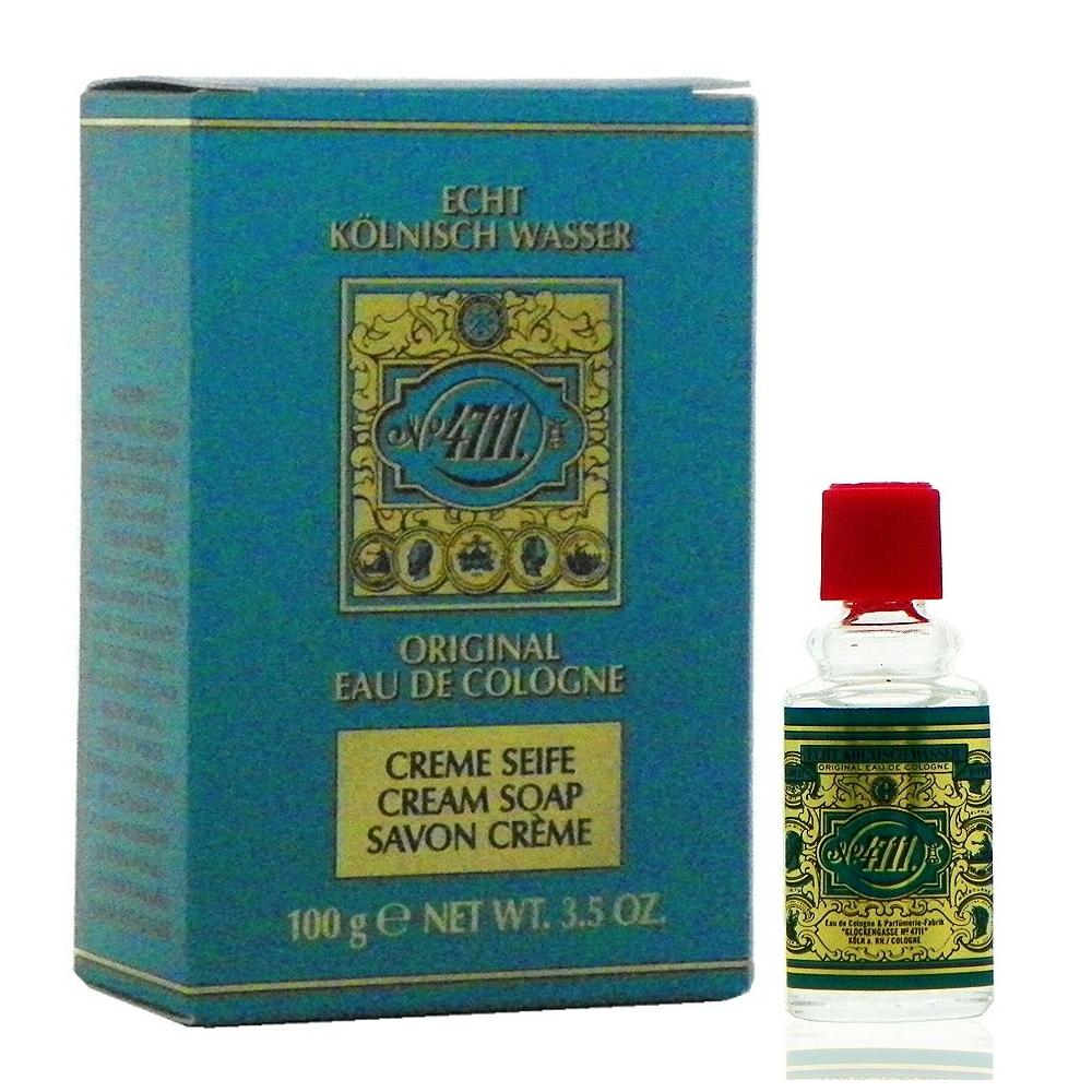 4711 Original Soap 古龍水香皂 100g + 古龍水 3ml 特惠組