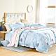 (限時下殺)AniaCasa 親膚天絲床包組 雙/大均價 送高級枕套x1