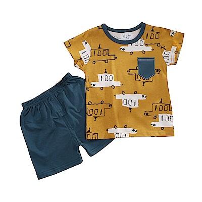 男童短袖清涼套裝 k51102 魔法Baby