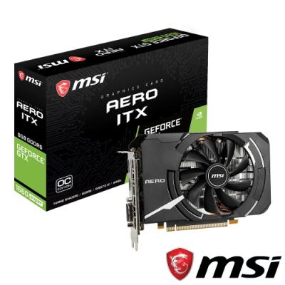 MSI微星 GeForce GTX 1660 SUPER AERO ITX OC 顯示卡