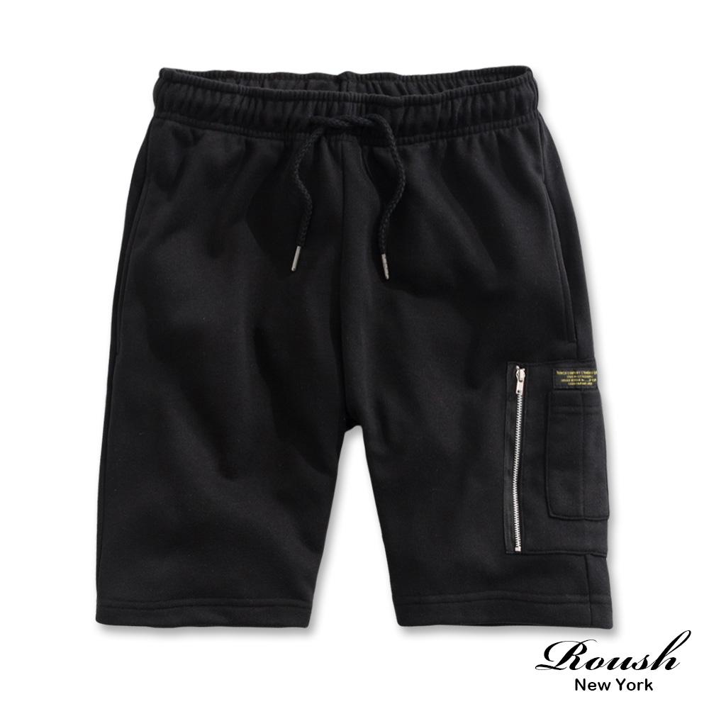 Roush MA-1側口袋工裝短棉褲(3色)