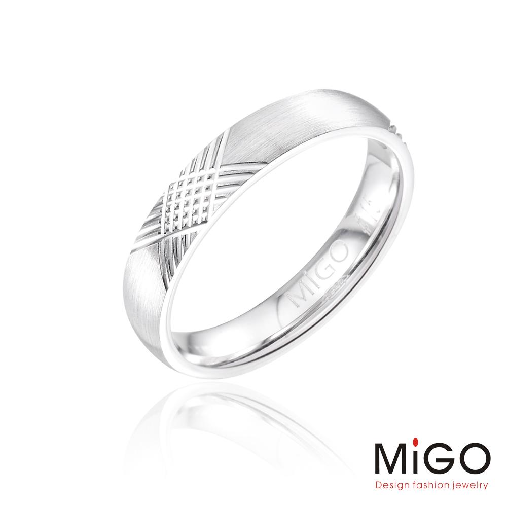 MiGO-編織愛情男戒(925銀)