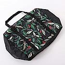 清新植物印花系列防潑水手提旅行袋.2色-OB大尺碼