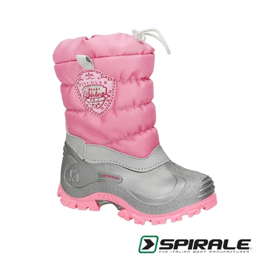 義大利SPIRALE Sabrina童靴/雪靴 芭比粉