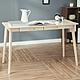 樂嫚妮 簡約雙抽屜工作桌/書桌/辦公桌-寬120深55高74cm-原木色 product thumbnail 2