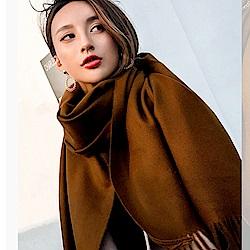黃金絨SKY純色系列圍巾