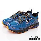 DIADORA-能量防潑水2E跑鞋款 FI556藍(男段)G