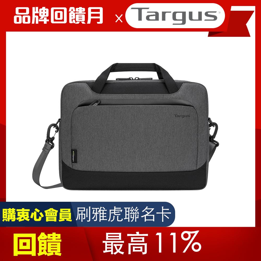 Targus Cypress EcoSmart 14 吋環保手提薄型側背包 - 岩石灰