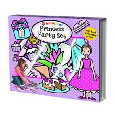 Let s Pretend:Princess Party Set 硬頁掀翻操作書(英國版)