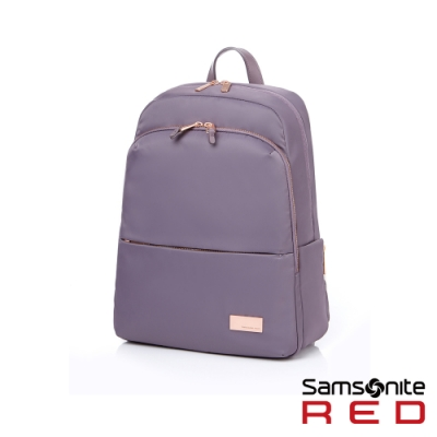Samsonite RED RENY 超輕量尼龍女性筆電後背包13吋(紫)