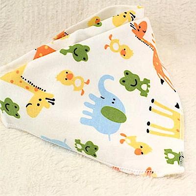 親親寶貝 頂級精品雙層精梳純棉嬰兒口水巾/嬰兒純棉圍兜三角巾(15款)