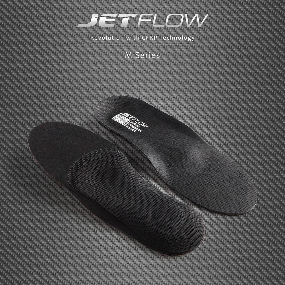 JETFLOW杰特福碳纖維鞋墊(法拉利等級12K碳纖維材質)