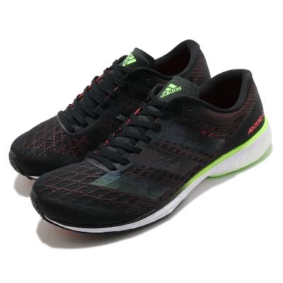 adidas 慢跑鞋 Adizero Adios 5 男鞋 愛迪達 馬牌輪胎大底 Boost底 跑鞋 黑 紅 EG4659