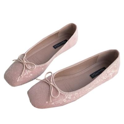 韓國KW美鞋館-(現貨)明星款璀璨年代花朵淑女鞋(共1色)