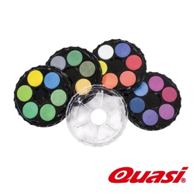 美國Quasi Surreal粉餅水彩組24色