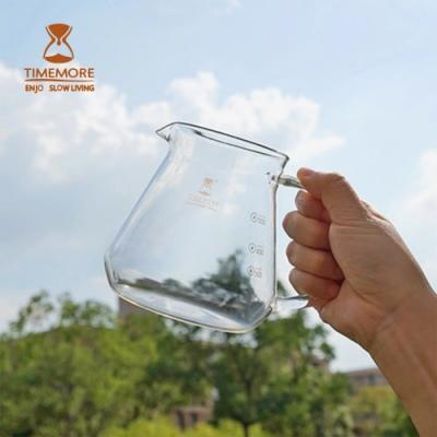 TIMEMORE泰摩 咖啡玻璃分享壺-600ml  手沖咖啡 分享壺 咖啡壺 咖啡濾壺 冰瞳濾杯