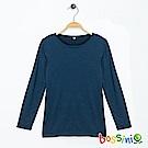 bossini童-遠紅外線調溫衣(保暖)01海軍藍