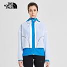 The North Face北面女款藍色防潑水透氣三合一外套|3VSBJA7
