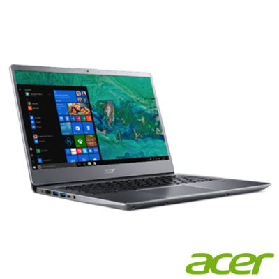 Acer S40-10-56QB 14吋筆電(i5-8250U/4G/512G/銀(福